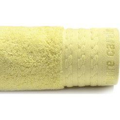 Kąpielówki męskie: Ręcznik w kolorze jasnożółtym