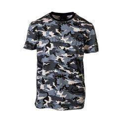 T-shirty chłopięce: Koszulka w kolorze czarno-szarym