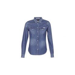 Koszule Replay  SUEL. Niebieskie koszule nocne i halki marki Replay. Za 351,20 zł.