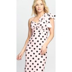 Różowa Sukienka Retro Woman. Czerwone sukienki letnie marki Born2be, s, retro. Za 79,99 zł.