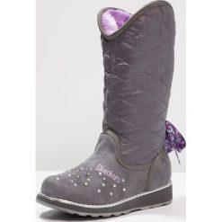 Skechers SPARKLE SPELL Kozaki grey. Niebieskie buty zimowe damskie marki Skechers. W wyprzedaży za 239,20 zł.