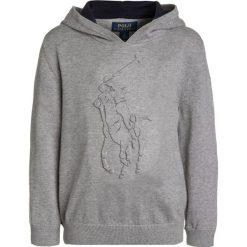Polo Ralph Lauren BIG  Bluza z kapturem andover heather. Szare bejsbolówki męskie Polo Ralph Lauren, z bawełny, z kapturem. Za 399,00 zł.