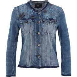 Bomberki damskie: 7 for all mankind Kurtka jeansowa blue