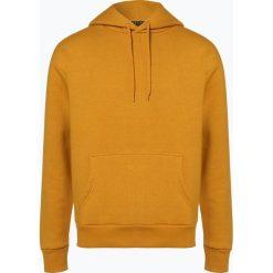 Review - Męska bluza nierozpinana, żółty. Żółte bluzy męskie rozpinane Review, m, z bawełny, z kapturem. Za 129,95 zł.