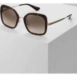 Prada Okulary przeciwsłoneczne havana. Brązowe okulary przeciwsłoneczne damskie aviatory Prada. Za 979,00 zł.