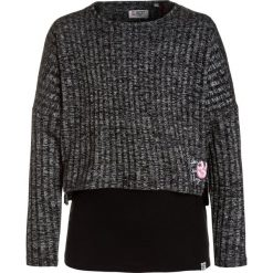 Swetry chłopięce: GEORGE GINA & LUCY girls MILANO 2 IN 1 Sweter super black