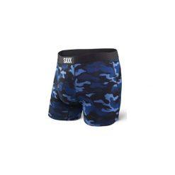 BOKSERKI MĘSKIE SAXX VIBE - BLUE CAMO. Zielone bokserki męskie marki Hummel, z bawełny. Za 139,00 zł.