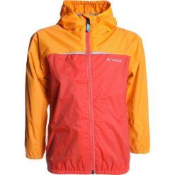 Vaude KIDS TURACO JACKET  Kurtka Outdoor redcurrant. Brązowe kurtki chłopięce sportowe marki Reserved, l, z kapturem. Za 249,00 zł.