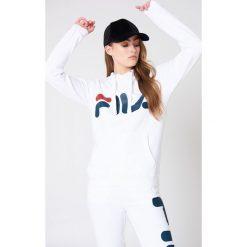 Bejsbolówki męskie: FILA Bluza z kapturem Classic Logo - White