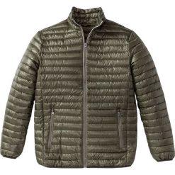 Lekka kurtka pikowana Regular Fit bonprix ciemnooliwkowy. Zielone kurtki męskie bomber bonprix, m. Za 99,99 zł.