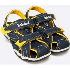 Timberland - Sandały dziecięce. Szare sandały chłopięce marki Timberland, z materiału, z okrągłym noskiem. W wyprzedaży za 119,90 zł.