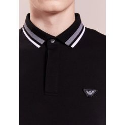 Emporio Armani Koszulka polo nero. Czarne koszulki polo Emporio Armani, l, z bawełny. Za 509,00 zł.