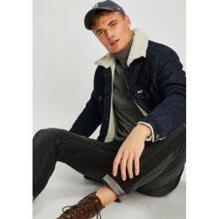 Tommy Jeans - Kurtka. Szare kurtki męskie jeansowe marki Tommy Jeans, l. Za 649,90 zł.