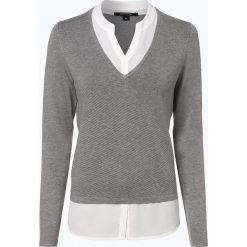 Comma - Sweter damski, szary. Szare swetry klasyczne damskie comma. Za 359,95 zł.