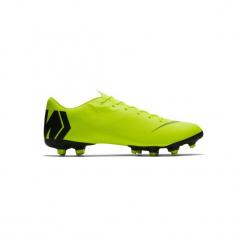 Buty do piłki nożnej Vapor 12 Academy MG korki. Żółte buty skate męskie marki Nike, z syntetyku, do piłki nożnej. Za 279,99 zł.