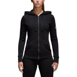 Bluzy damskie: Adidas Bluza damska Essentials Solid Fullzip Hoodie czarna r. S (S97085)