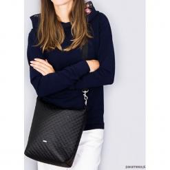 Torba little Simple black. Czarne torebki klasyczne damskie Pakamera, w kropki, ze skóry, pikowane. Za 119,00 zł.