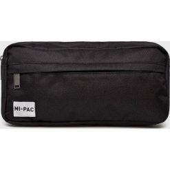 Mi-Pac - Nerka. Czarne walizki marki Mi-Pac, w paski, z materiału, małe. Za 89,90 zł.