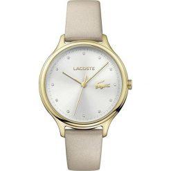 Lacoste - Zegarek Constance 2001007. Szare zegarki damskie Lacoste, szklane. Za 699,90 zł.