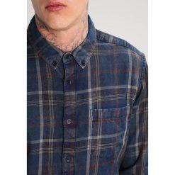 Koszule męskie na spinki: Tigha GREG Koszula indigo/orange
