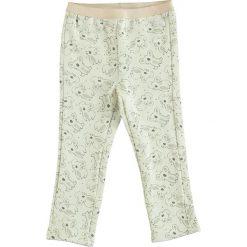 Spodnie niemowlęce: Spodnie dresowe w kolorze biało-jasnoróżowym