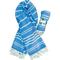 """Kąpielówki męskie: Fouta """"Oasis"""" w kolorze niebieskim – 160 x 90 cm"""
