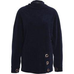 Swetry klasyczne damskie: Soft Rebels PEN Sweter night sky