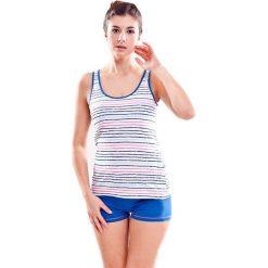 Piżamy damskie: Piżama w kolorze granatowym