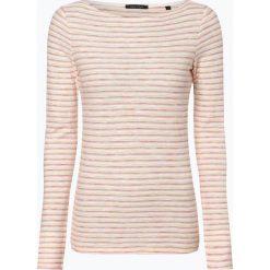 Marc O'Polo - Damska koszulka z długim rękawem, beżowy. Szare t-shirty damskie marki U.S. Polo, l, z aplikacjami, z dzianiny, z okrągłym kołnierzem. Za 219,95 zł.