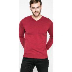 Medicine - Sweter Lord and Master. Czerwone swetry klasyczne męskie marki MEDICINE, m, z bawełny, z okrągłym kołnierzem. W wyprzedaży za 59,90 zł.