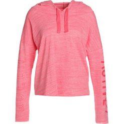 Bluzy rozpinane damskie: Deha FELPA CON CAPPUCCIO Bluza z kapturem geranium red