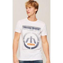 T-shirt Biały. Białe t-shirty męskie House, l. Za 35,99 zł.