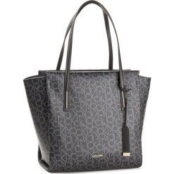 Shopper bag damskie: Torebka CALVIN KLEIN BLACK LABEL – Frame Large Shopper K60K604170 001