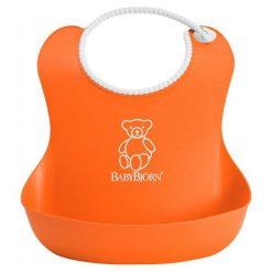 Babybjörn Miękki Śliniak  Soft, Pomarańczowy. Brązowe śliniaki BABYBJORN. W wyprzedaży za 43,00 zł.