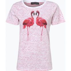 Franco Callegari - T-shirt damski, różowy. Czerwone t-shirty damskie Franco Callegari, z nadrukiem. Za 49,95 zł.