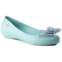 Baleriny ZAXY - Butterfly Fem 82403 Turkus 01164 Y285004. Niebieskie baleriny damskie Zaxy, z materiału. W wyprzedaży za 109,00 zł.