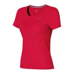 Odlo Koszulka s/s crew neck MAREN czerwona r. L (221821). Czerwone topy sportowe damskie Odlo, l. Za 149,95 zł.