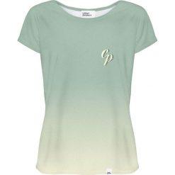 Colour Pleasure Koszulka damska CP-034 258 miętowa r. XXXL/XXXXL. Fioletowe bluzki damskie marki Colour pleasure, uniwersalny. Za 70,35 zł.