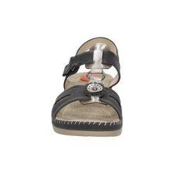 Sandały Casu  Sandały na koturnie  LS06701P. Szare rzymianki damskie Casu, na koturnie. Za 69,99 zł.