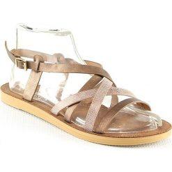 Sandały damskie: Sandały w kolorze miedzianym