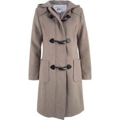 Płaszcz wełniany budrysówka bonprix brunatny. Brązowe płaszcze damskie wełniane bonprix. Za 249,99 zł.
