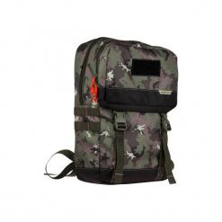 Plecak 20 l X-ACCESS CAMO ISLAND. Zielone plecaki męskie SOLOGNAC, z materiału. Za 49,99 zł.