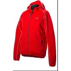 Northfinder Bluza Jamari Red L. Czerwone bluzy męskie rozpinane marki KALENJI, m, z elastanu, z długim rękawem, długie. W wyprzedaży za 119,00 zł.