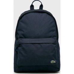 Lacoste - Plecak. Czarne plecaki męskie Lacoste. W wyprzedaży za 279,90 zł.