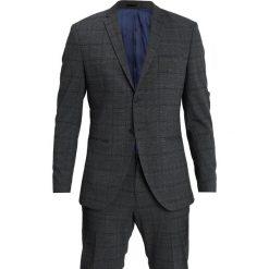 Selected Homme SLH SLIM FIT CELLOGAN CHECK SUIT Garnitur medium grey melange. Szare garnitury Selected Homme, z elastanu. Za 899,00 zł.