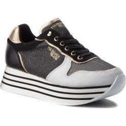 Sneakersy TRUSSARDI JEANS - 79A00246 K308. Sneakersy damskie Trussardi Jeans, z jeansu. Za 549,00 zł.