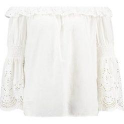 Bluzki asymetryczne: Vero Moda VMLUX  Bluzka snow white