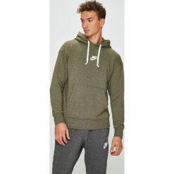 Nike Sportswear - Bluza. Szare bluzy męskie rozpinane Nike Sportswear, l, z bawełny, z kapturem. W wyprzedaży za 199,90 zł.