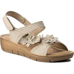 Rzymianki damskie: Sandały INBLU – LIABOO11 Beżowy