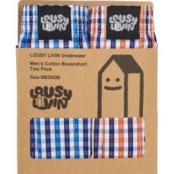 Lousy Livin - Bokserki (2-pack). Brązowe bokserki męskie Lousy Livin, z bawełny. W wyprzedaży za 79,90 zł.